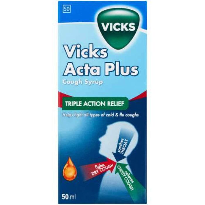 Vicks Acta Plus Cough Syrup 50ml Snatcher Online Shopping South Africa