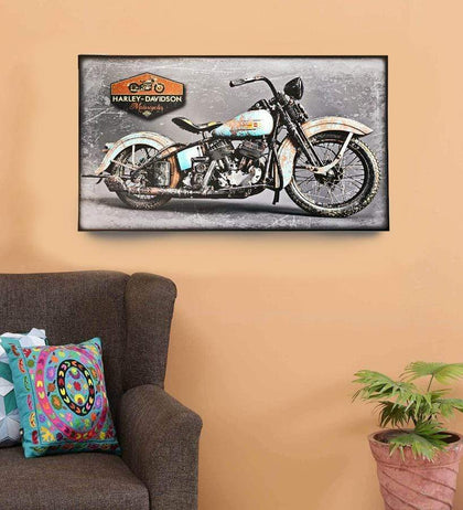 Vintage Harley Davidson Wooden Frame Wall Décor Hanging Photo Snatcher Online Shopping South Africa