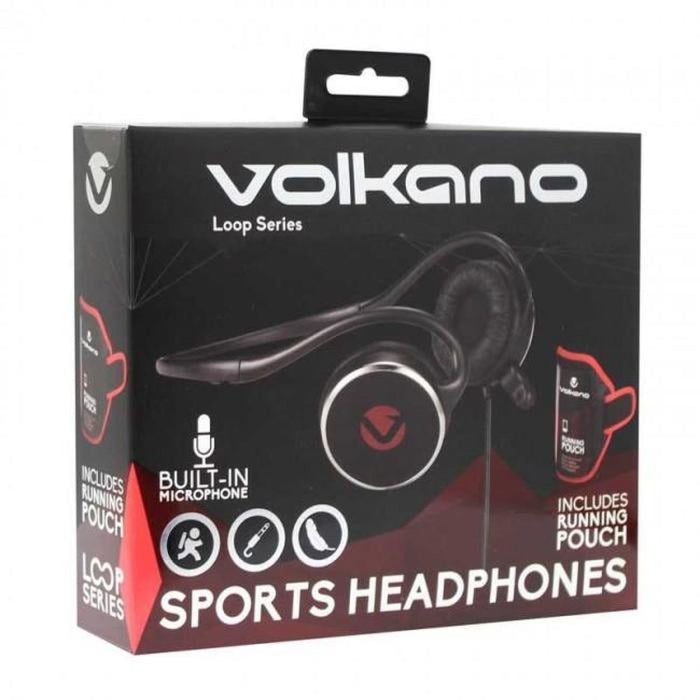 Volkano- Loop Series Sports Headphones With Pouch Snatcher Online Shopping South Africa