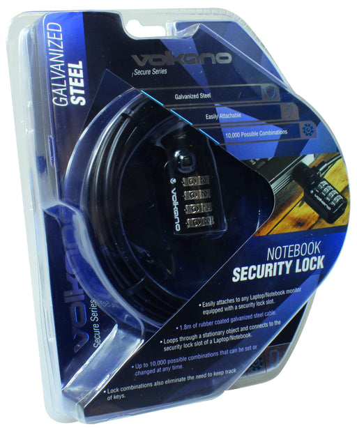 Volkano Secure Series - Notebook Security Lock Snatcher Online Shopping South Africa