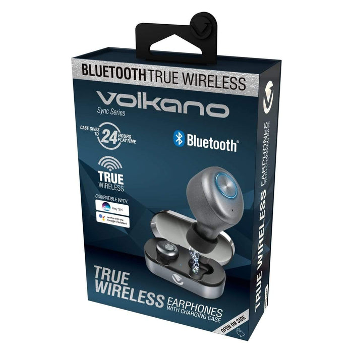Volkano Sync Series True Wireless Bluetooth Earbuds - Black Snatcher Online Shopping South Africa