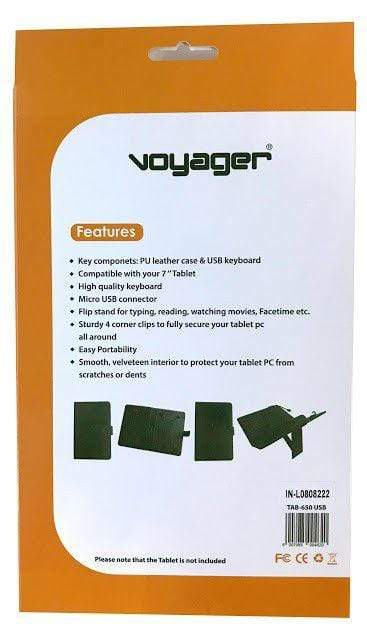 "Voyager 7"" Tablet Case With Wired Keyboard Snatcher Online Shopping South Africa"