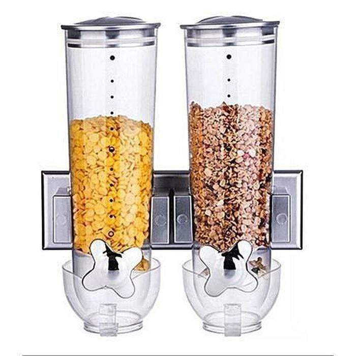 Wall Mounted Cereal Dispenser Double Snatcher Online Shopping South Africa