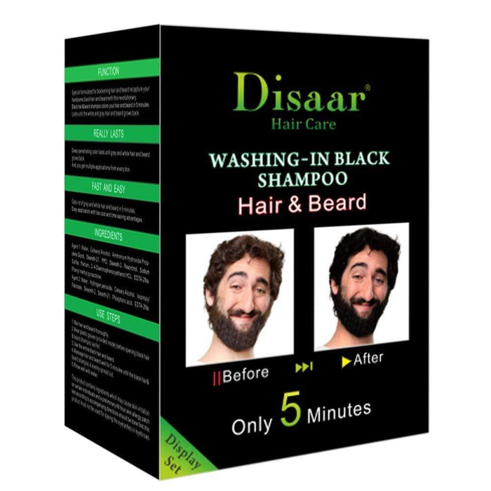 Wash-In Black Hair And Beard Shampoo Snatcher Online Shopping South Africa