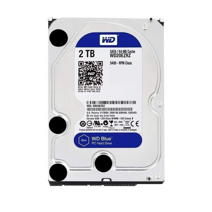 WD Blue 2TB 3.5 SATA 64MB Snatcher Online Shopping South Africa