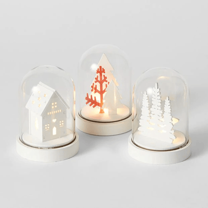 White Winter Scene LED Snow Globe Snatcher Online Shopping South Africa