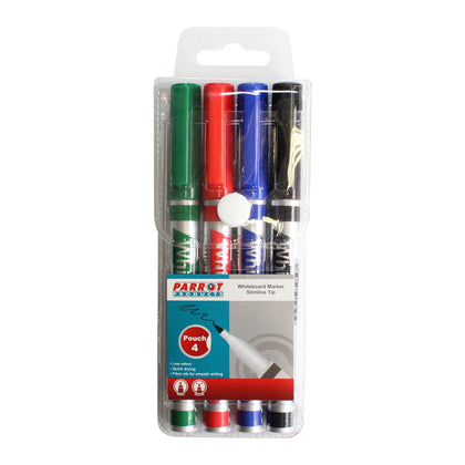 Whiteboard Marker (Slimline Tip - Pouch 4) Snatcher Online Shopping South Africa