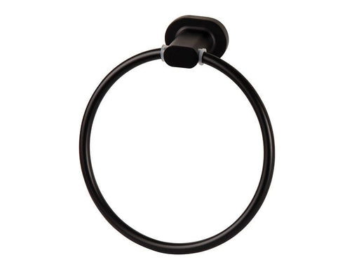 Wildberry Matt Black Towel Ring Snatcher Online Shopping South Africa