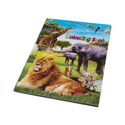 Wildlife Stickers & Colouring Book Snatcher Online Shopping South Africa