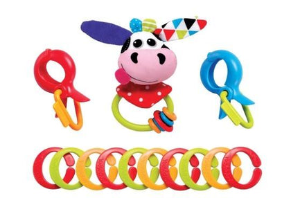 Yookidoo- Clips, Rattle & Links - Cow Snatcher Online Shopping South Africa