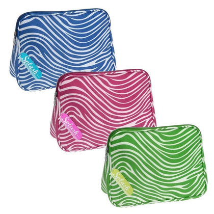 Zebra Embossed Toiletry Bag Blue Snatcher Online Shopping South Africa