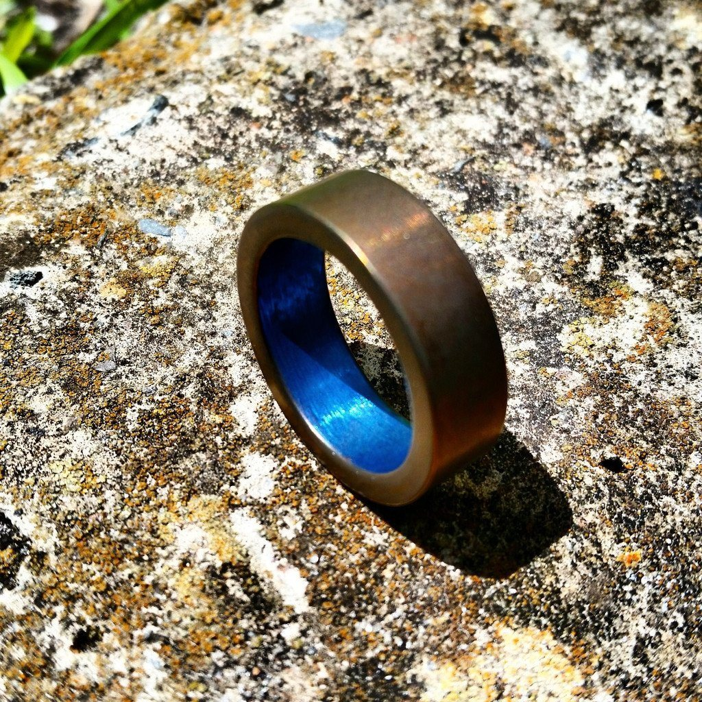 Titanium Wedding Bands Ti Survival
