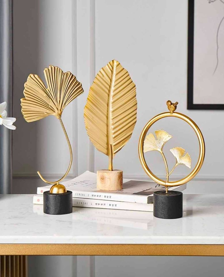 Gold Leaves Home Decor