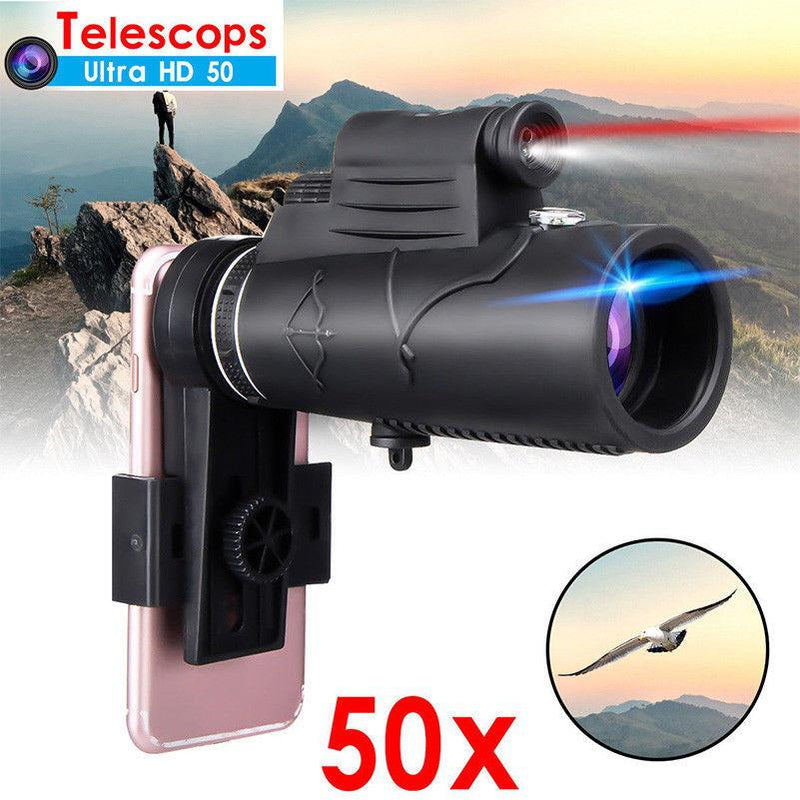 Mobile Telescope With Torch Light