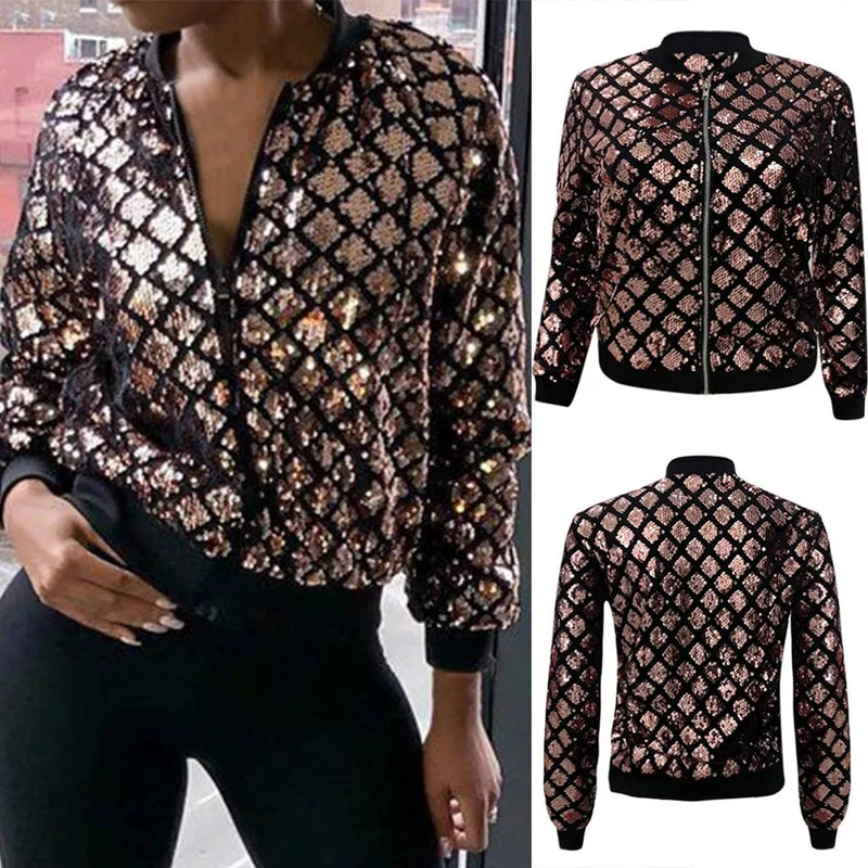 Women Geometric Jacket