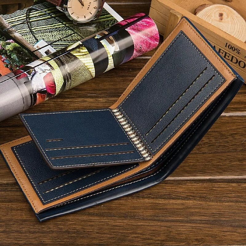 Men Business Small Wallet