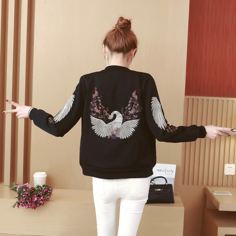 Women Casual Bomber Jacket