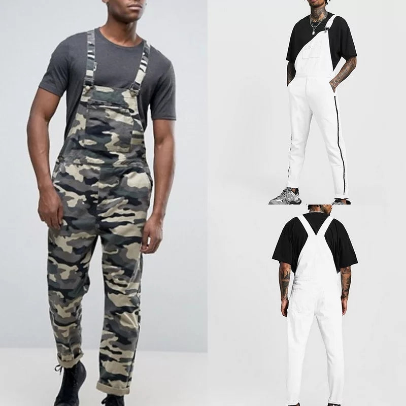 Men Casual Fashion Overall