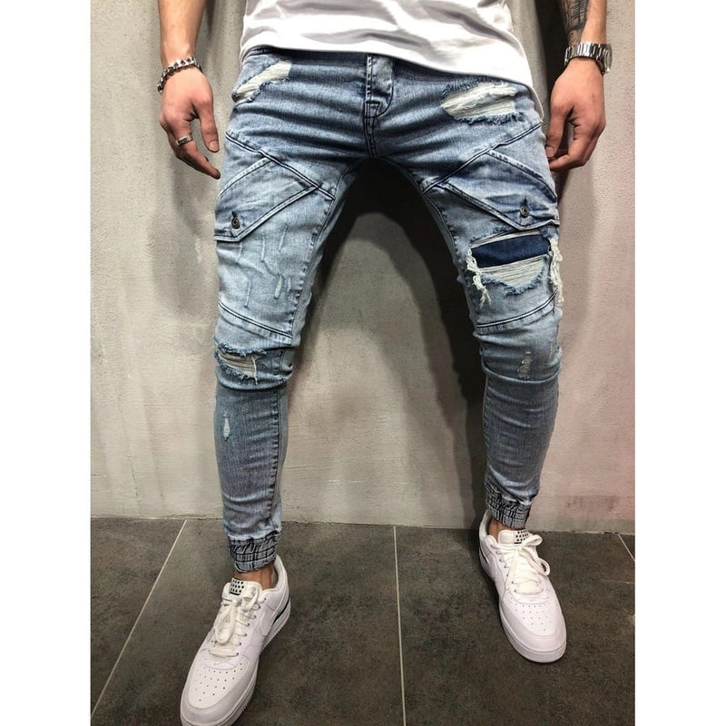 Men Destroyer Jeans