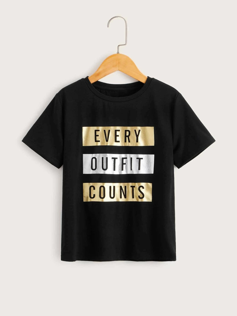 Every Outfits Counts tee