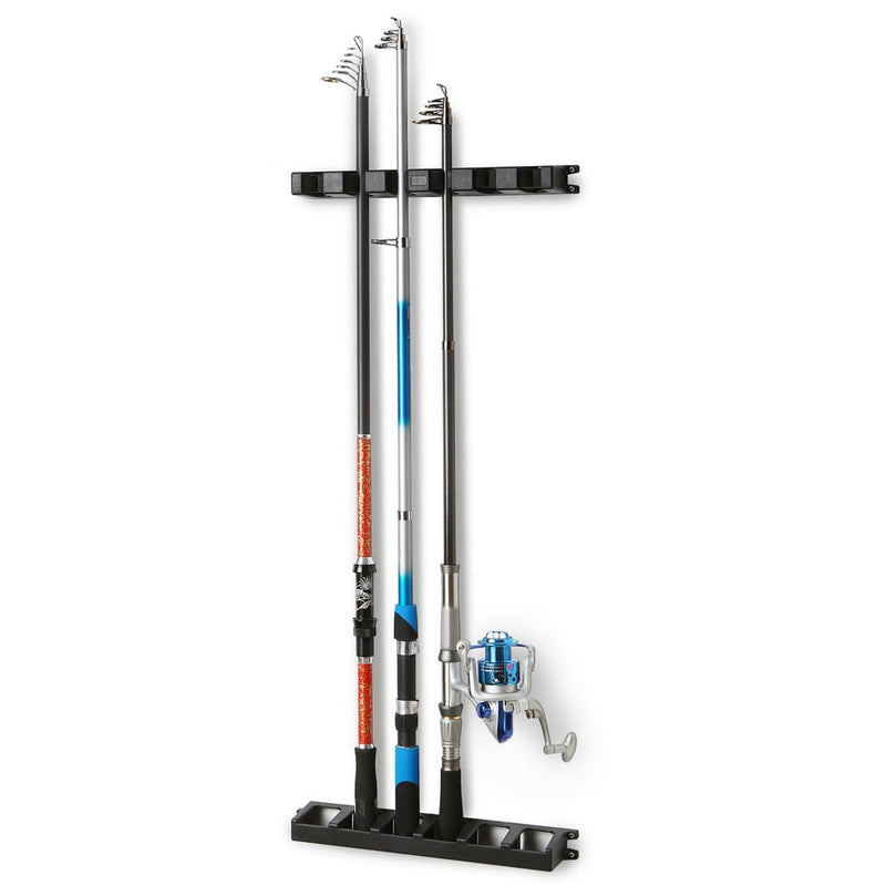 Fishing Rod Wall Rack