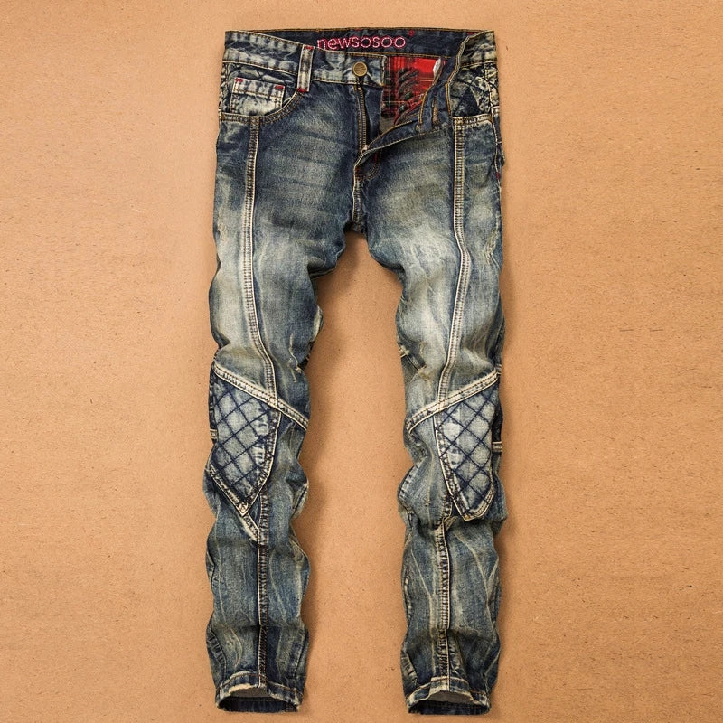 Men Jeans With 2 Side Pockets