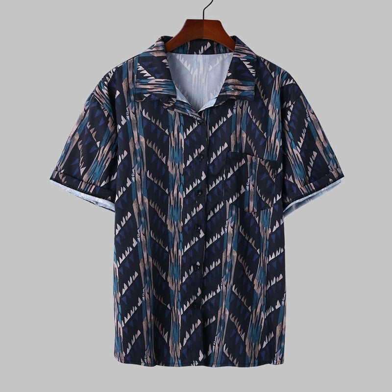Men Aztec Shirt