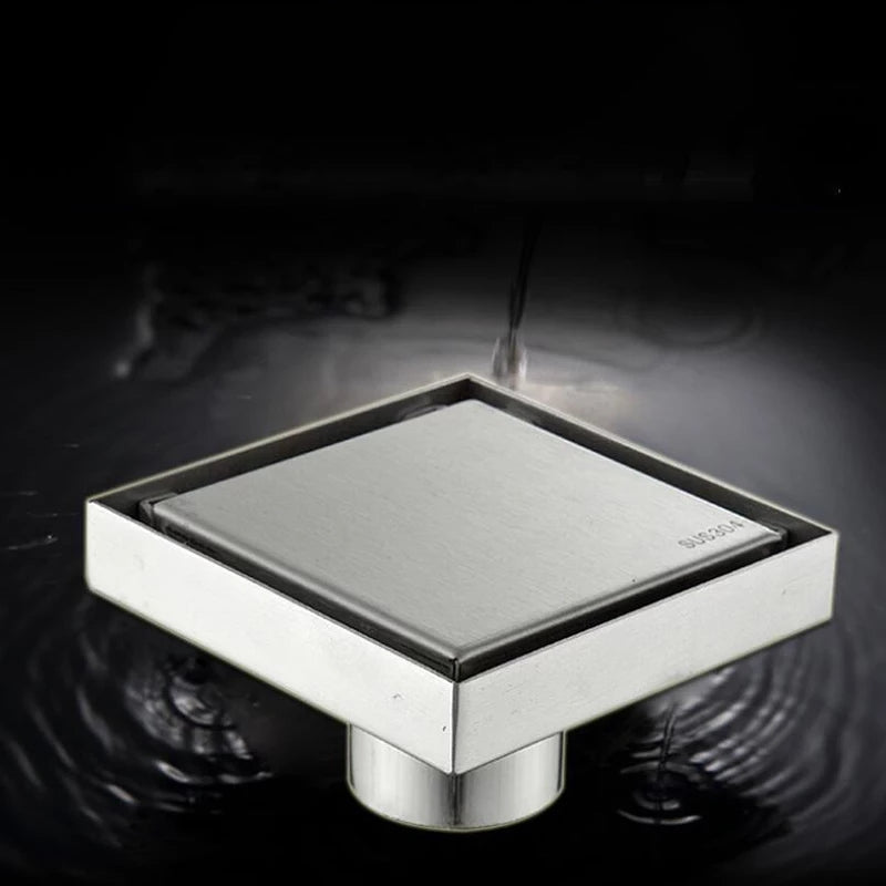 Square Stainless Steel Floor Trap