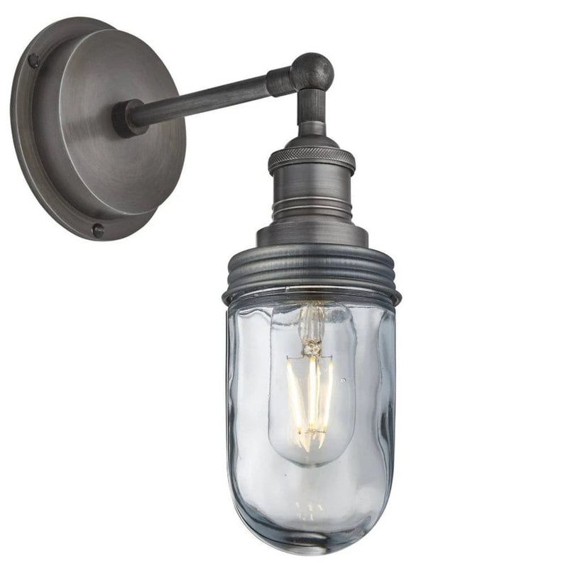 Grey Antique Wall Light