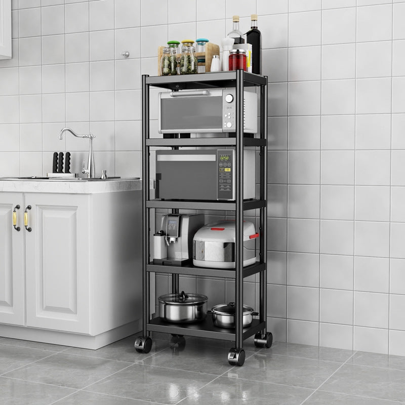 Black Kitchen Shelve