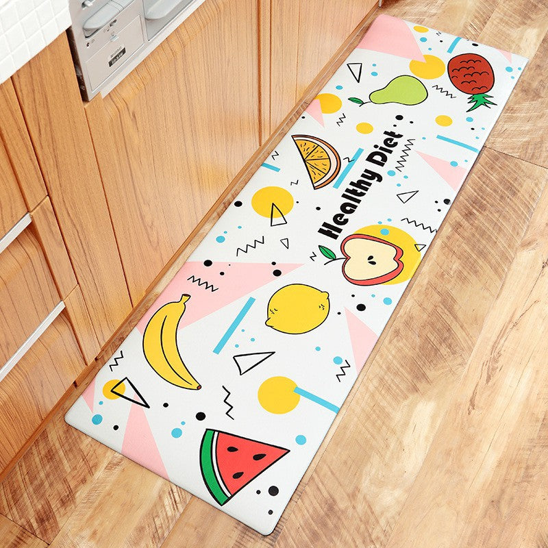 Healthy Diet Kitchen Mat