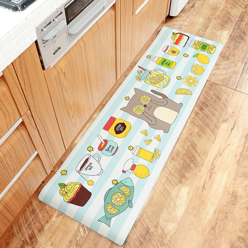 Lemon Kitchen Mat