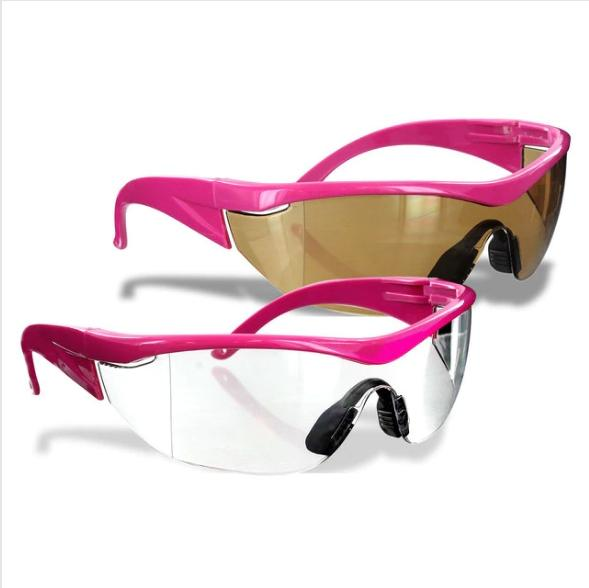 Ladies Pink Safety Goggles