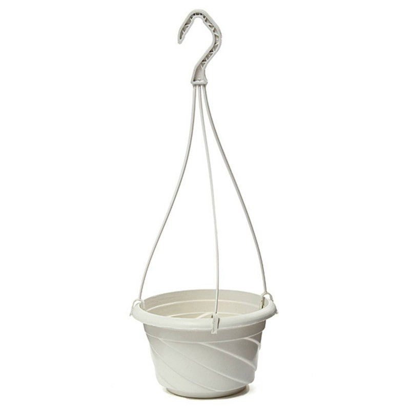 White Hanging Flower Pot