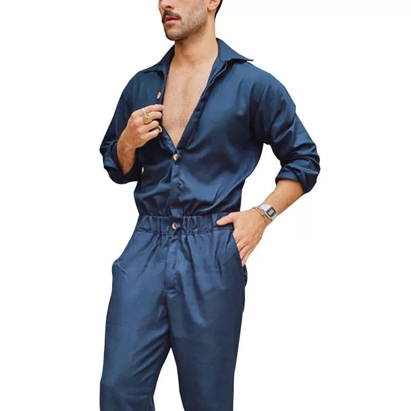 Men Plain Romper