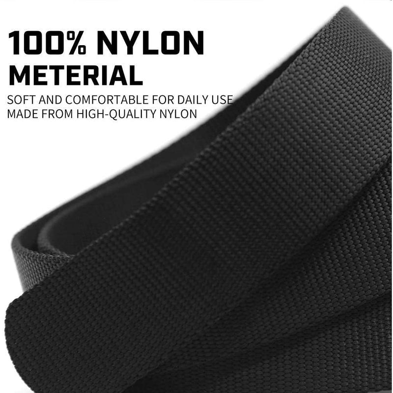 Men Black Tactical Belt