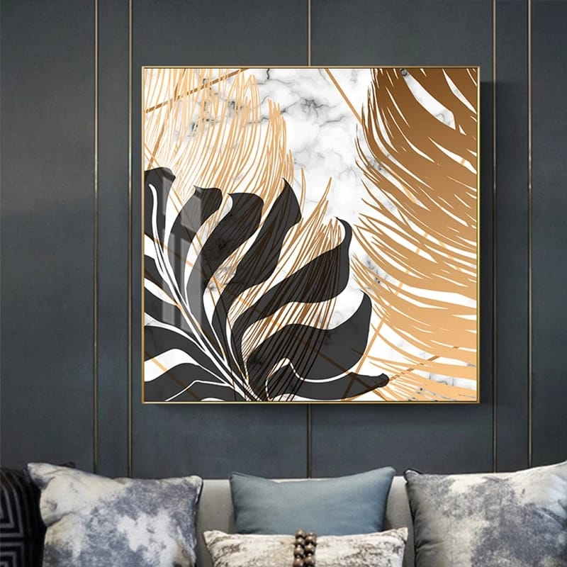 Marble Design Modern Canvas