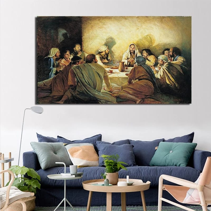 Christ Last Supper Canvas