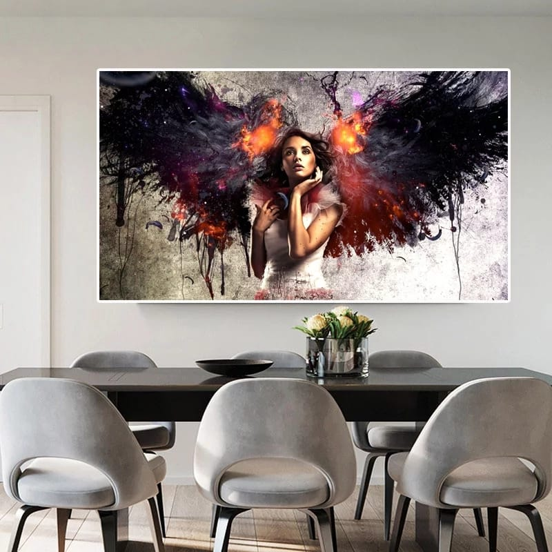 Wing Angel Canvas
