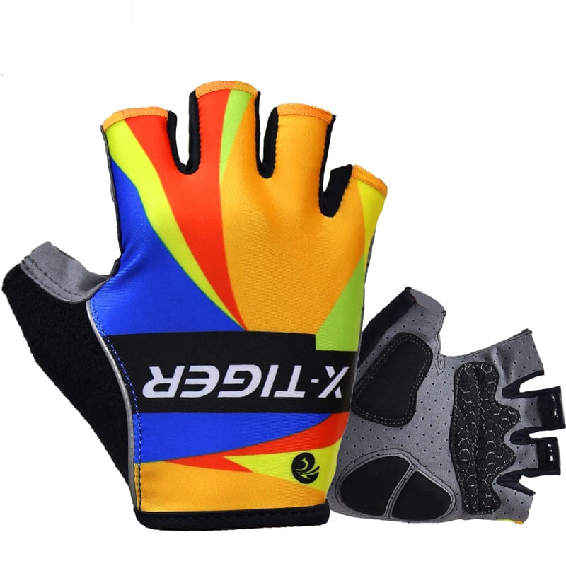 Men Colourful Cycling Glove