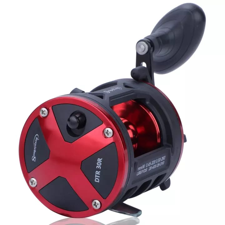 Black and Red 3+1 B Fishing Reel