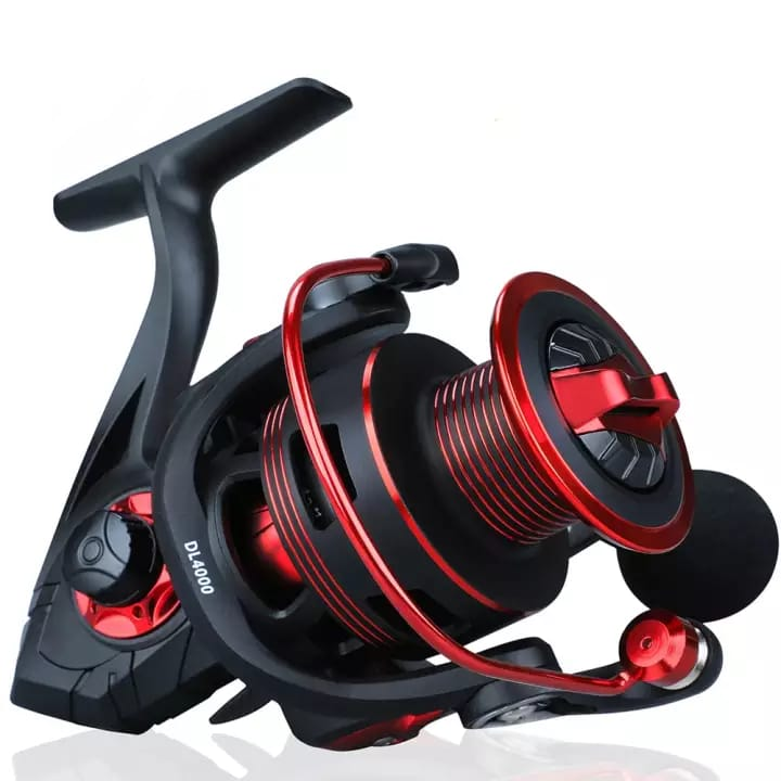 Red 12+1 B Fishing Reel