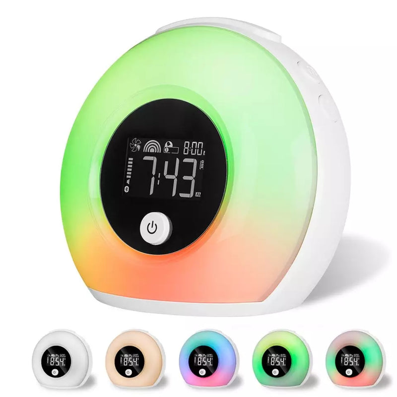 Unique LED Alarm Clock