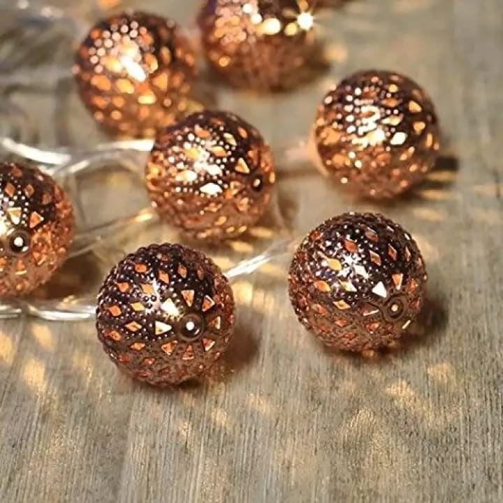 Ball Design Fairy Light Deepavali Decor