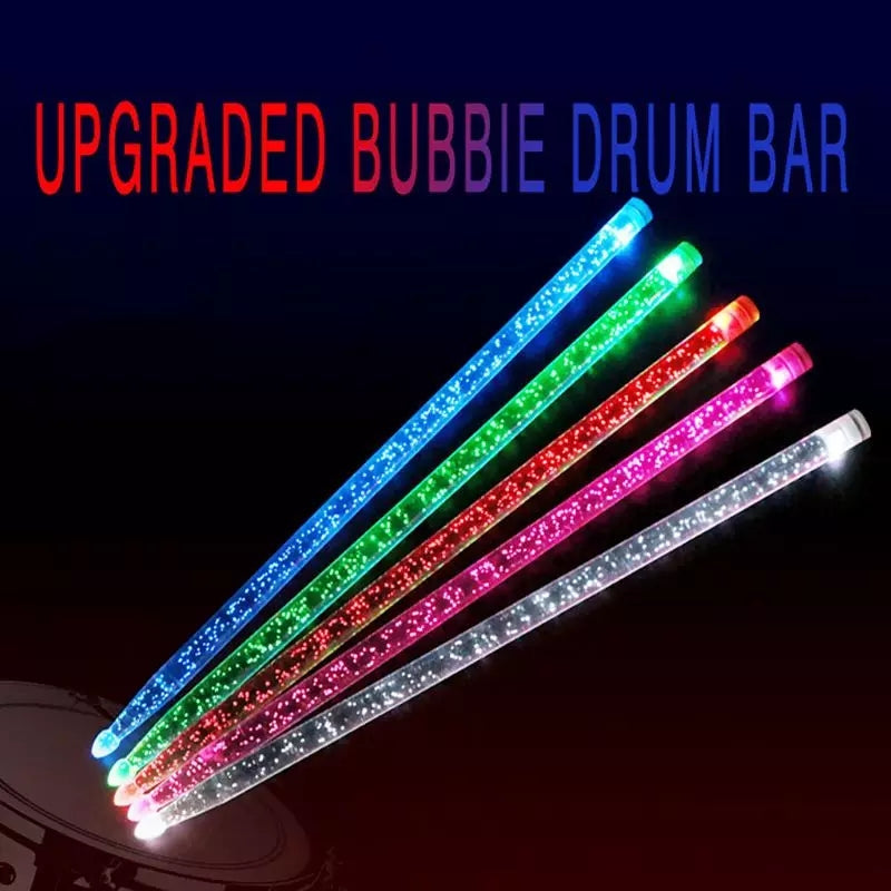 Bubble Design Drum Stick
