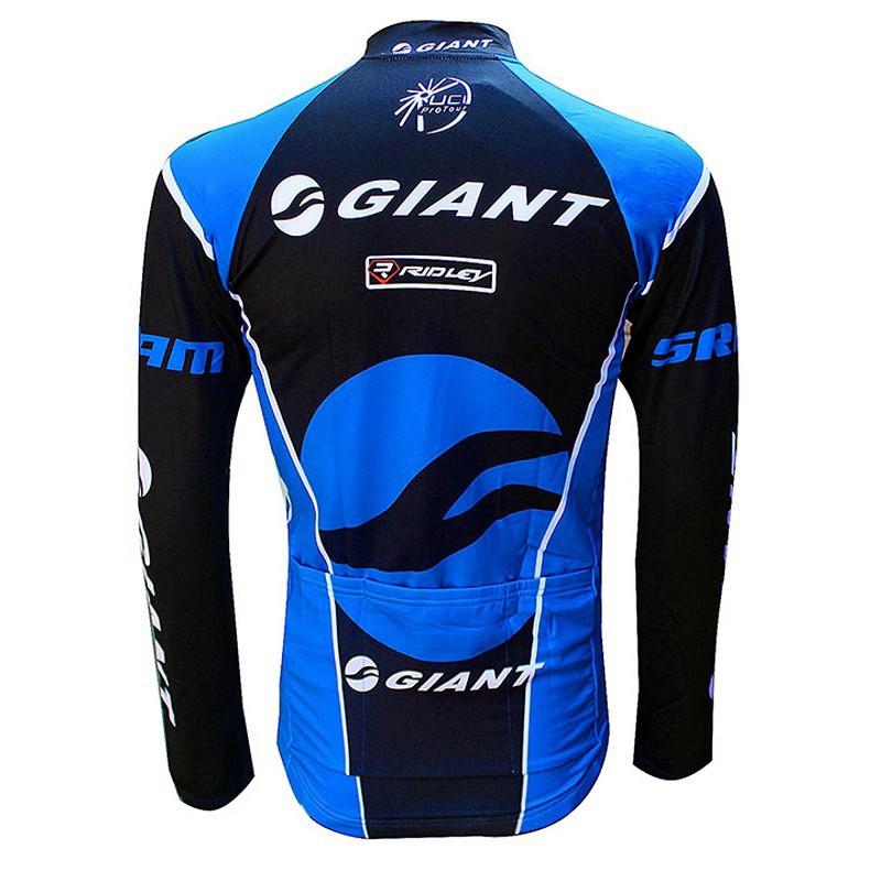Blue Long Sleeve Jersey
