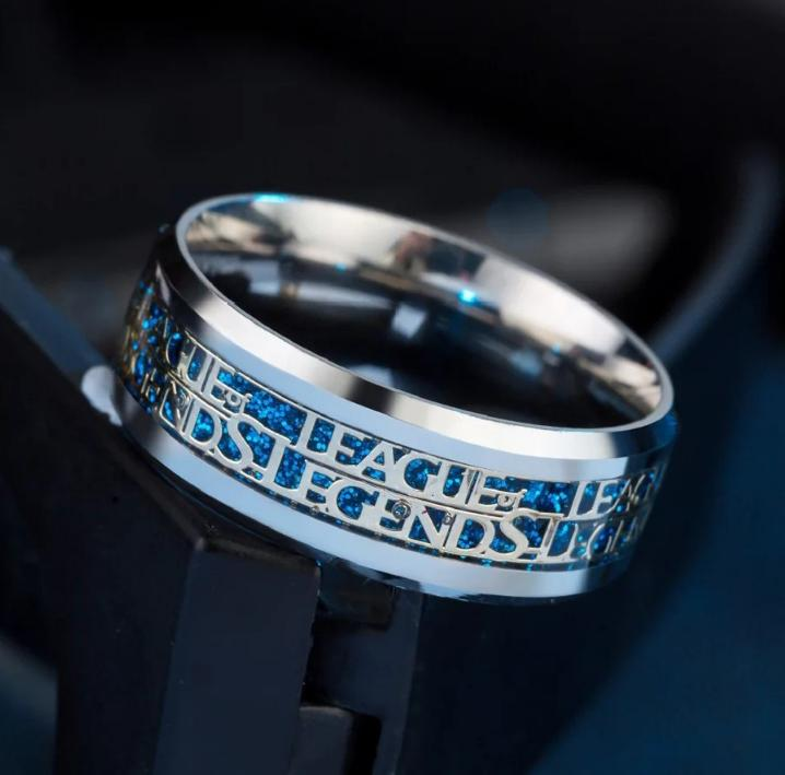 Men League Of Legends Ring