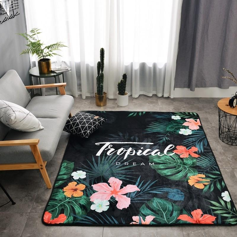 Tropical Modern Design Carpet