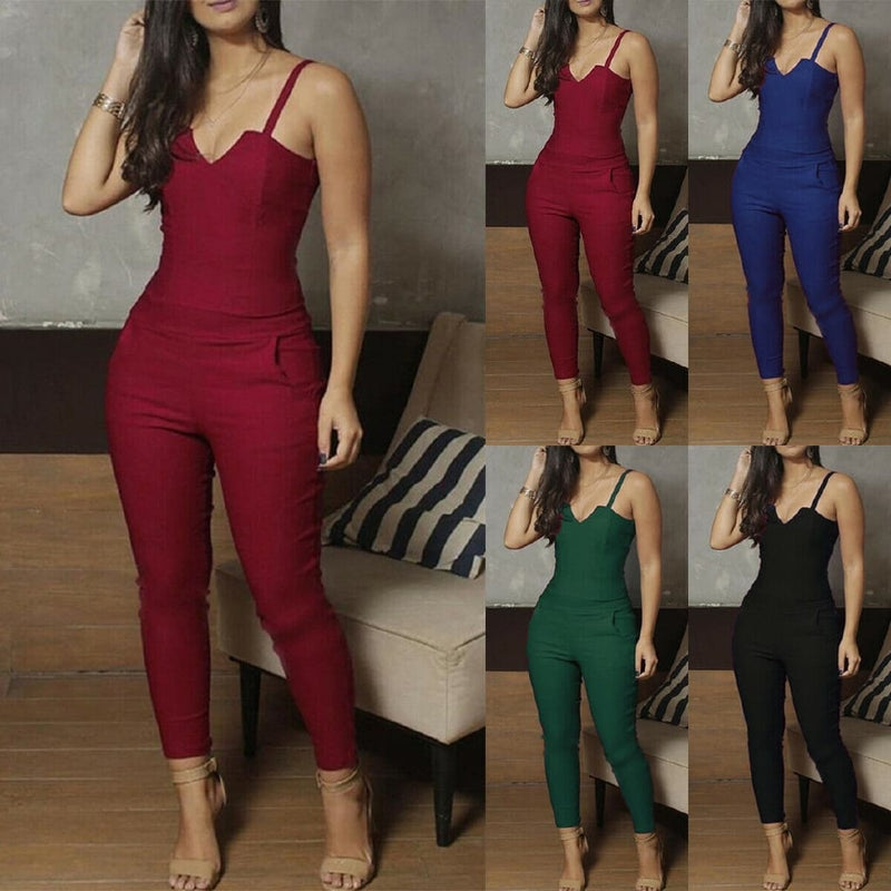 Pocket Sexy Jumpsuit