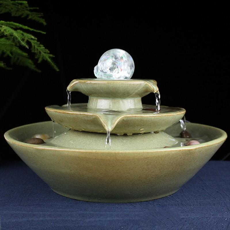 Crystal Ball Water Fountain